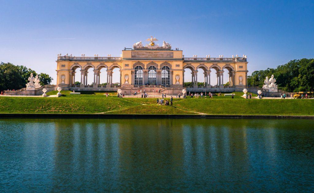 Gloriette at Schönbrunn Palace in Vienna