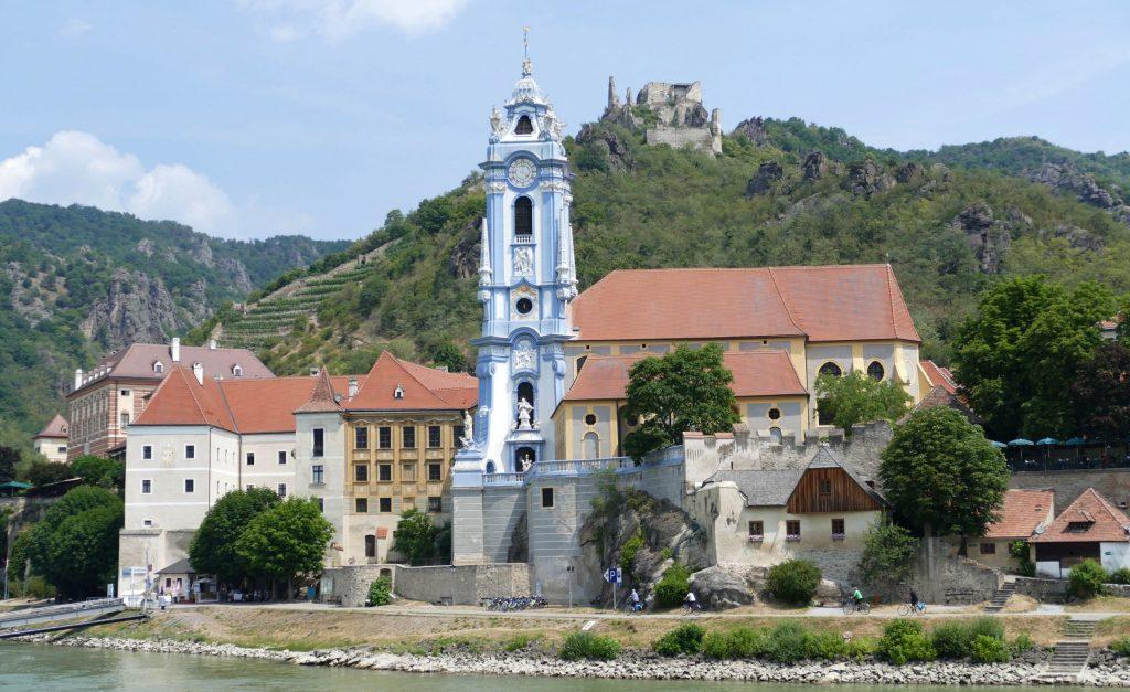 The town of Dürnstein in the Wachau Valley