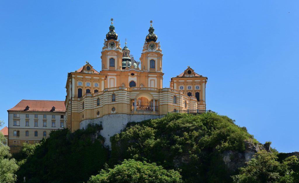 Baroque Abbey in Melk