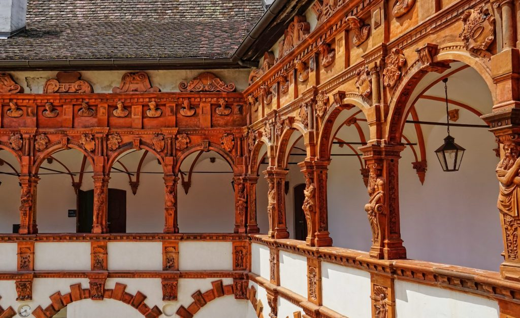 Renaissance Castle Schallaburg near Melk