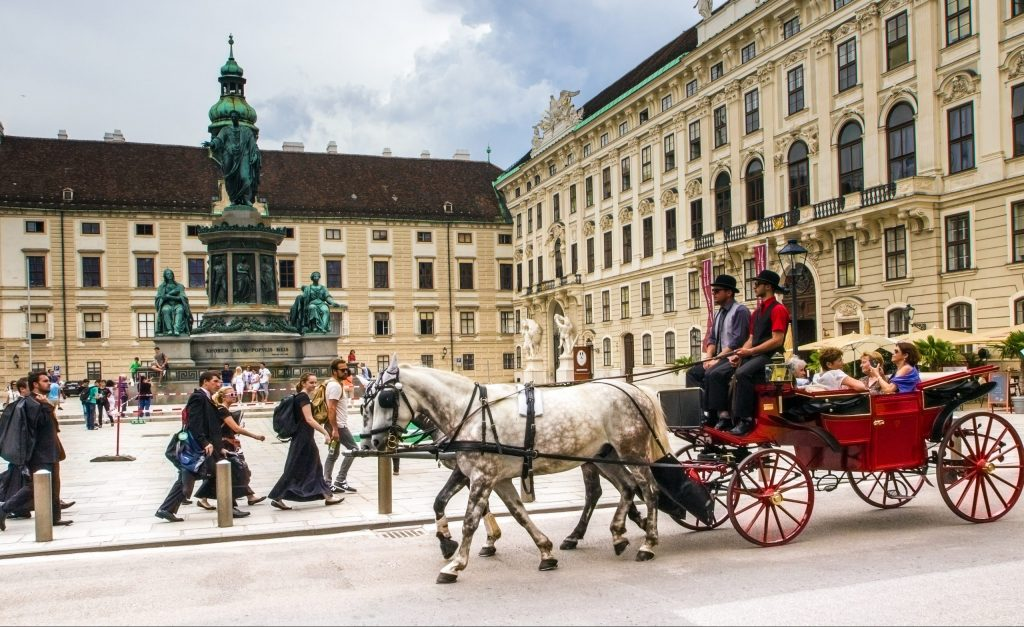 Hofburg (Imperial Palace) in Vienna